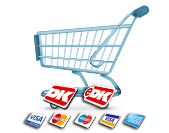 Indkøbskurv til onlineshopping
