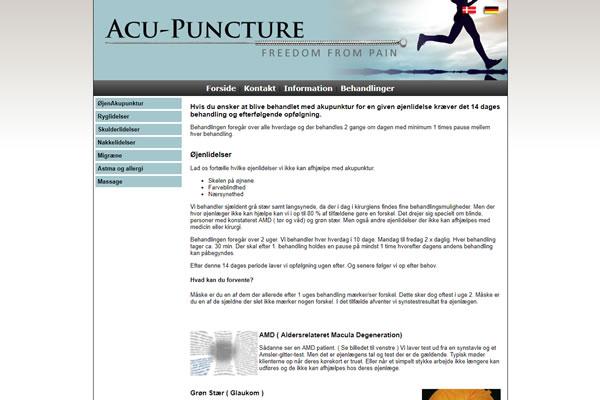 acu-puncture