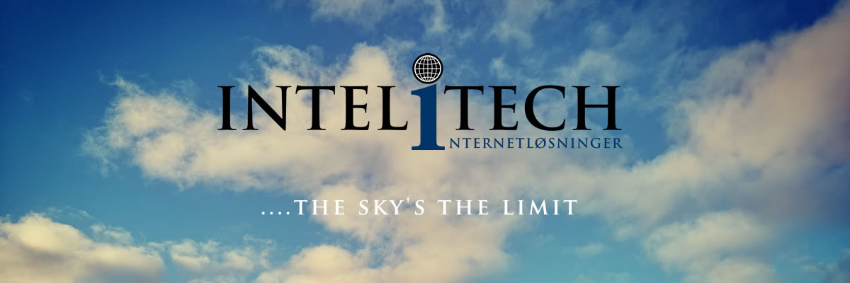 Intelitech Internetløsninger - the sky's the limit