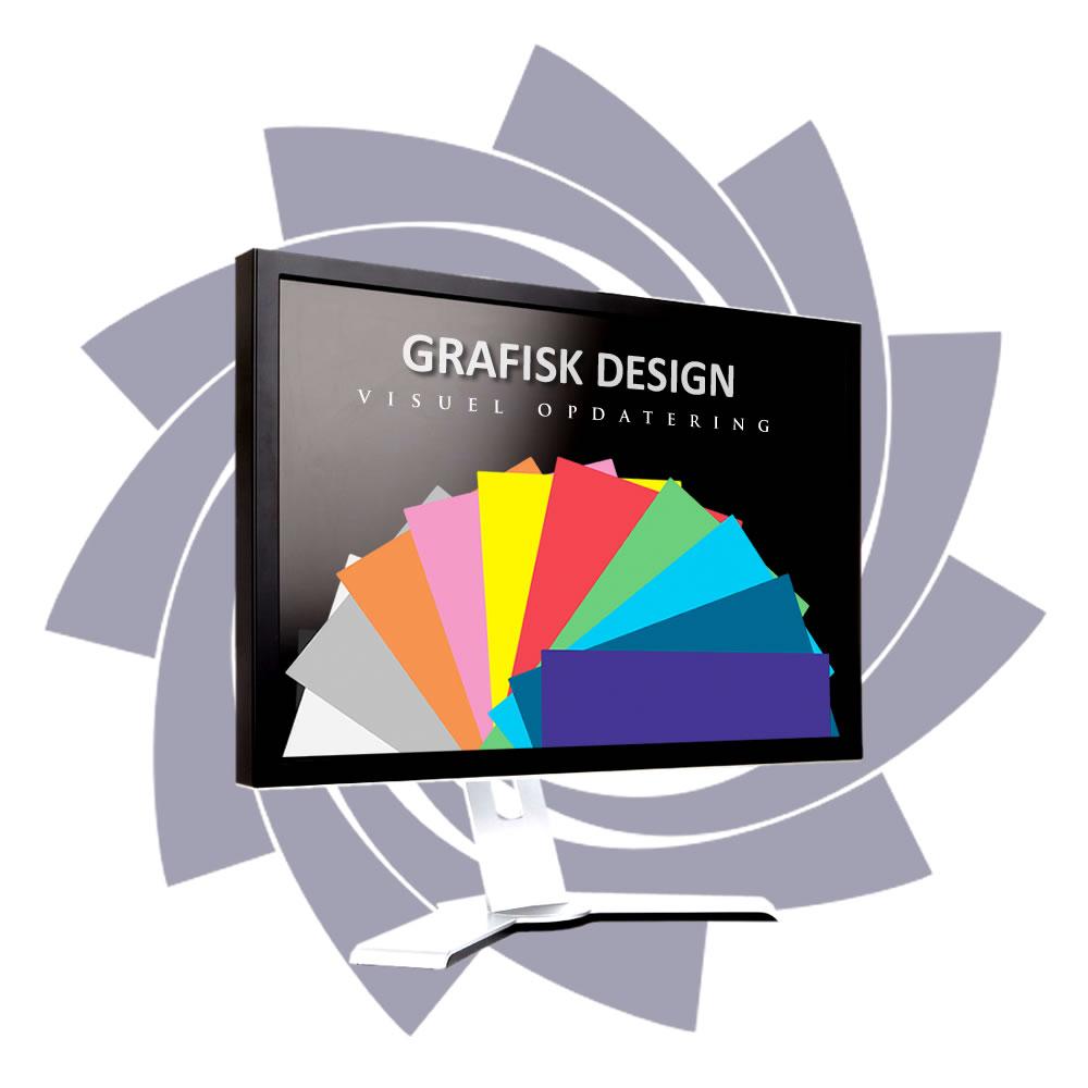 Grafisk arbejde - den visuelle opdatering af jeres virksomhed